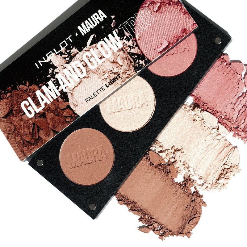 Glam & Glow Trio Palette | Light