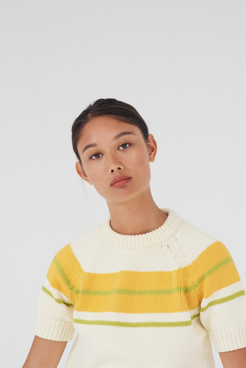 Aliyah Pullover - Cloud Cream