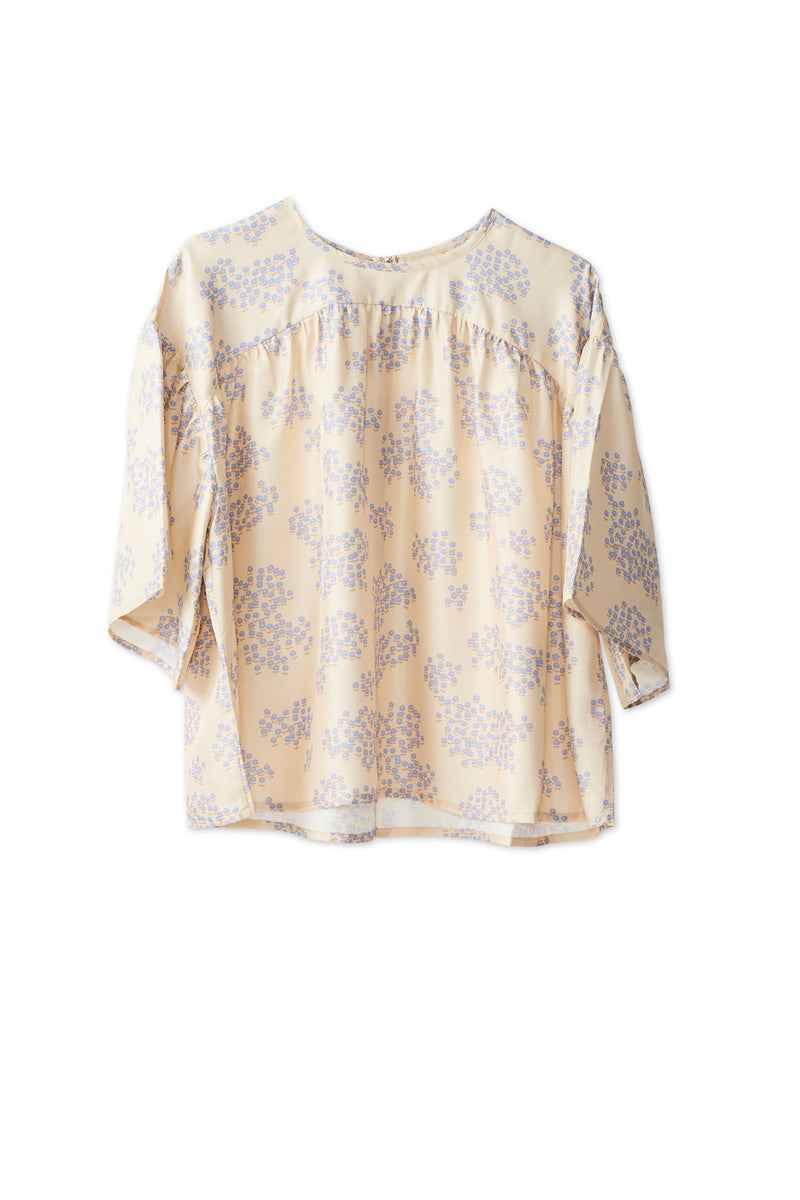 Cali Blouse - Cloud Cream