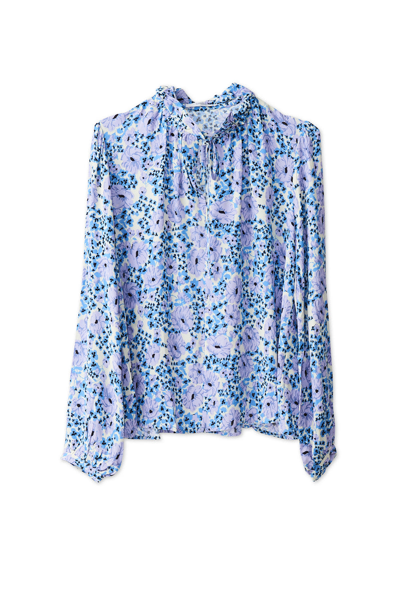 Toscana Blouse - Purple Heather