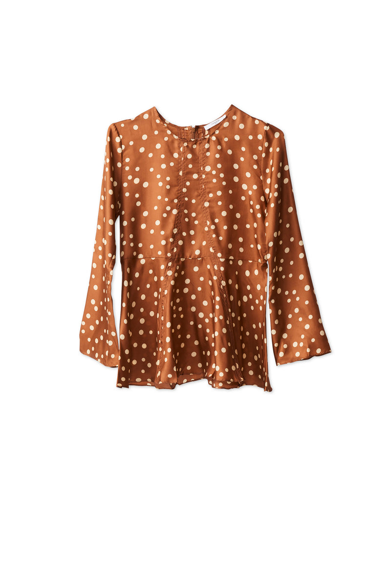 Nadeige Blouse Gingerbread