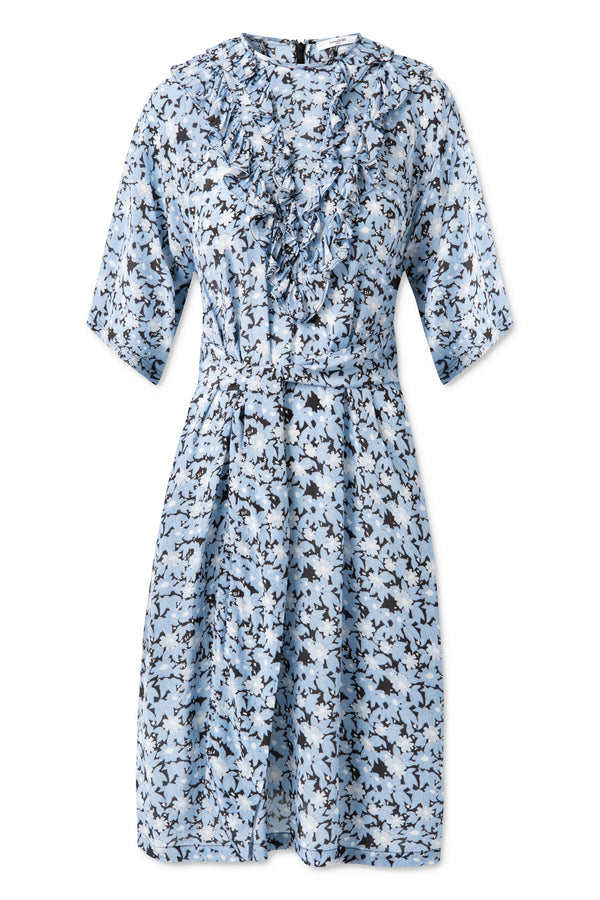 Cecilie Dress - Little Blue