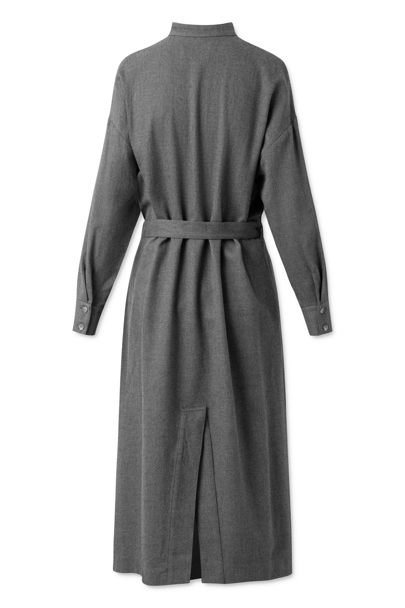 Emanuelle Dress - Grey Melange