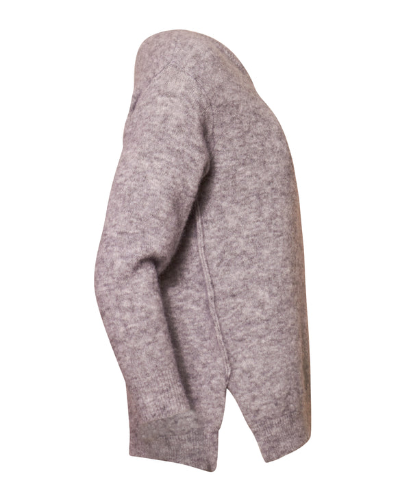 Ina Pullover - Light Grey Melange