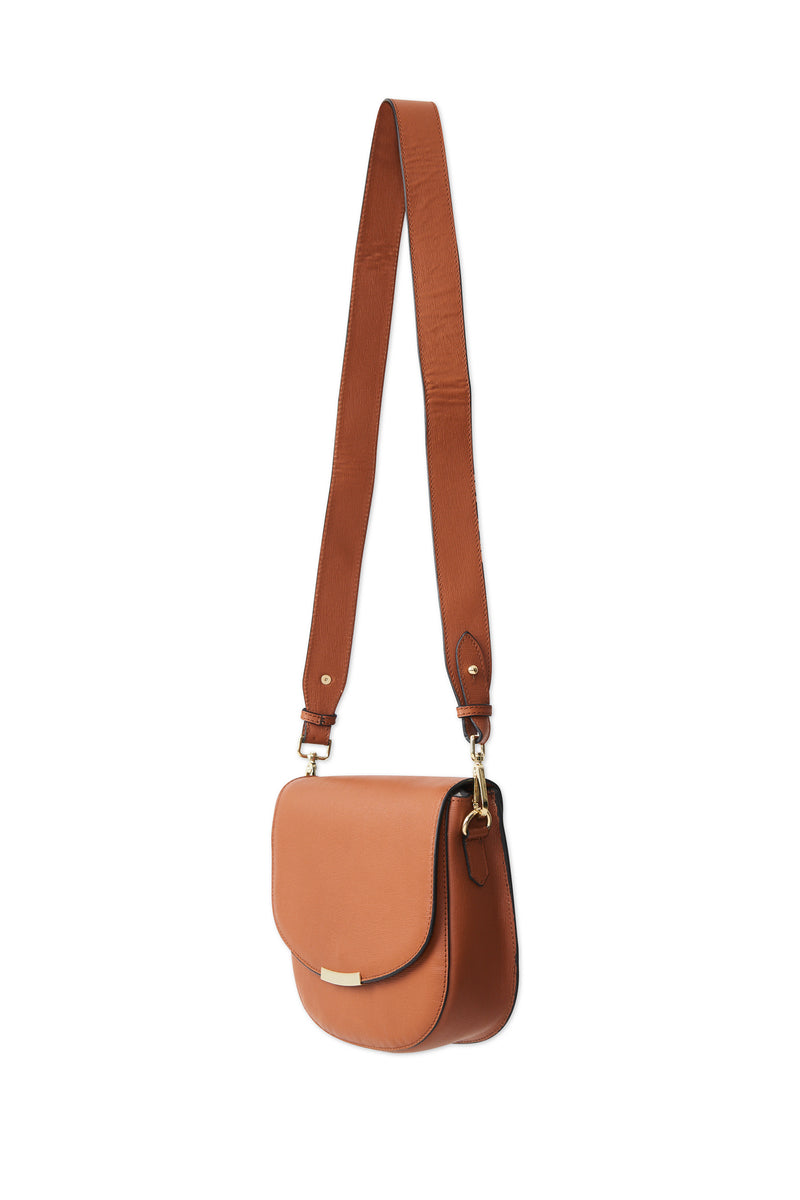 Dakota Shoulder Bag - Leather Brown