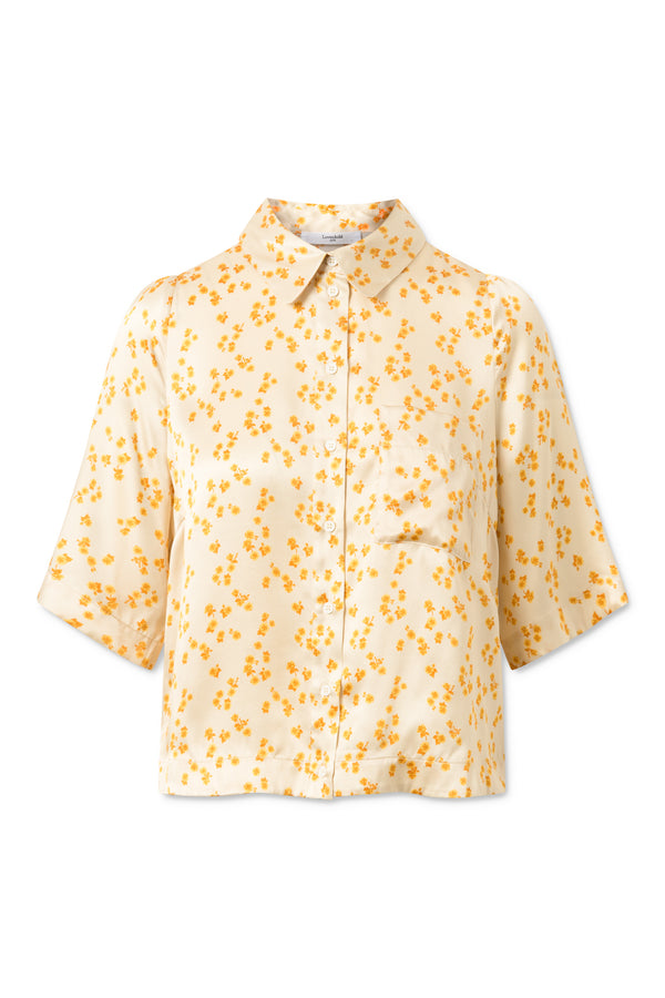 Airy Shirt - Lemon Curry