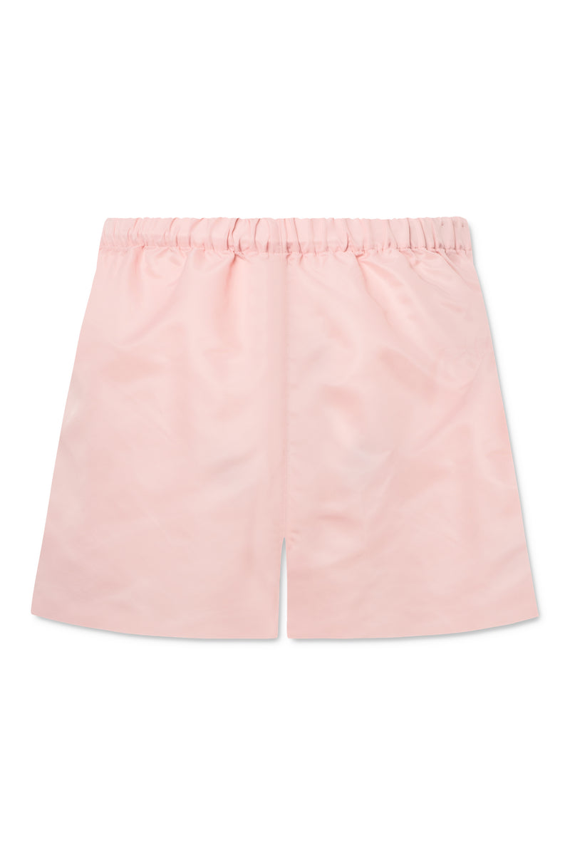 Alessio Nylon Shorts - Coral Blush
