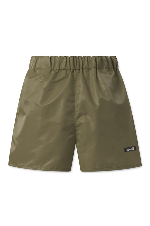 Alessio Nylon Shorts - Army