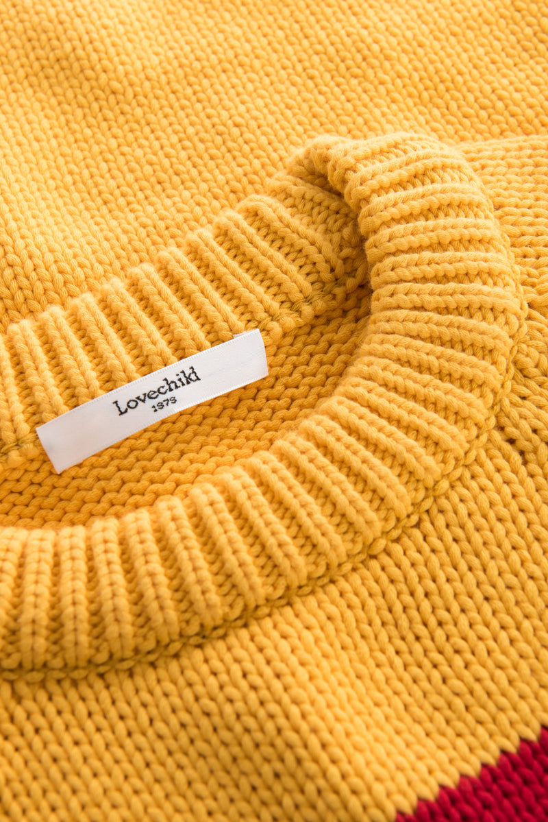 Aliyah Pullover - Buff Yellow