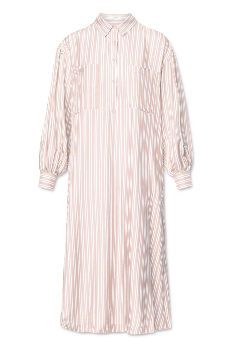 Carin Dress - Barely Pink