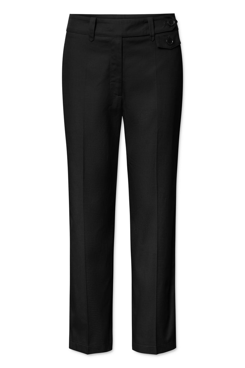 Coppola Wool Pants - Black