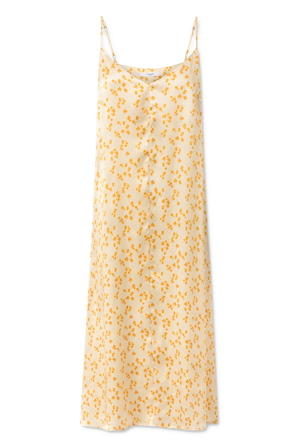 Dalila Dress - Lemon Curry