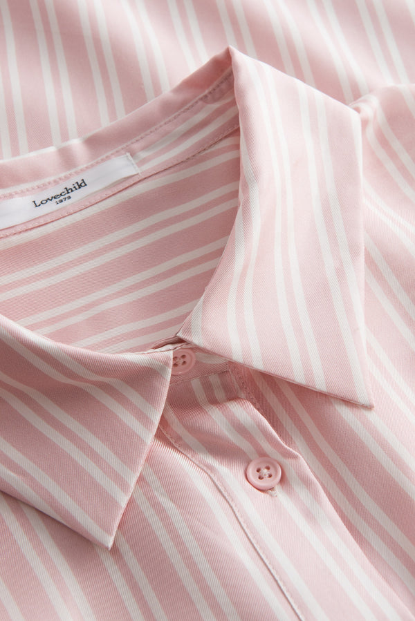 Elba Shirt - Barely Pink