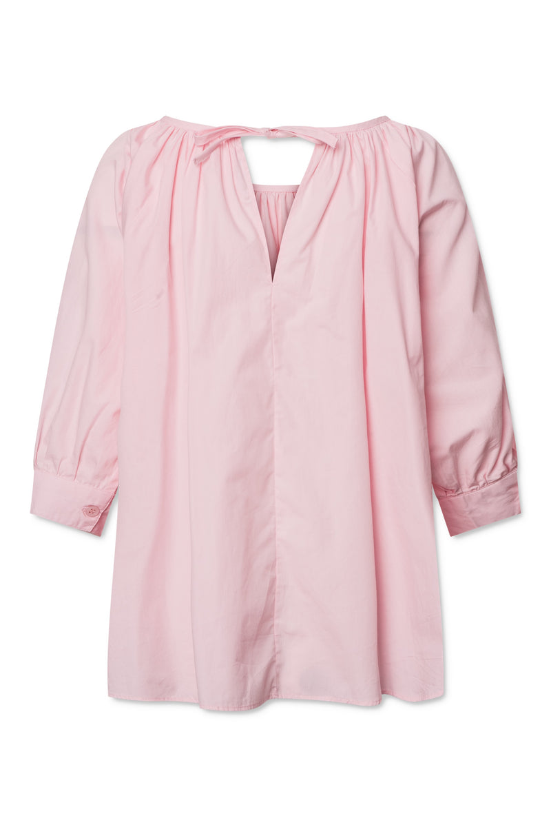 Esmira Blouse - Barely Pink