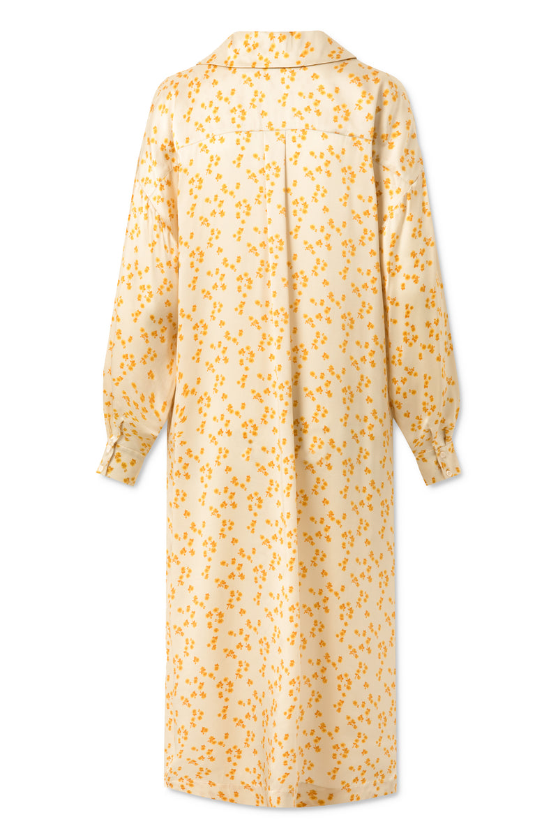 Fiola Dress - Lemon Curry