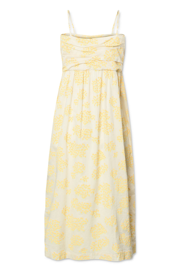 Kelly Dress - Cloud Cream
