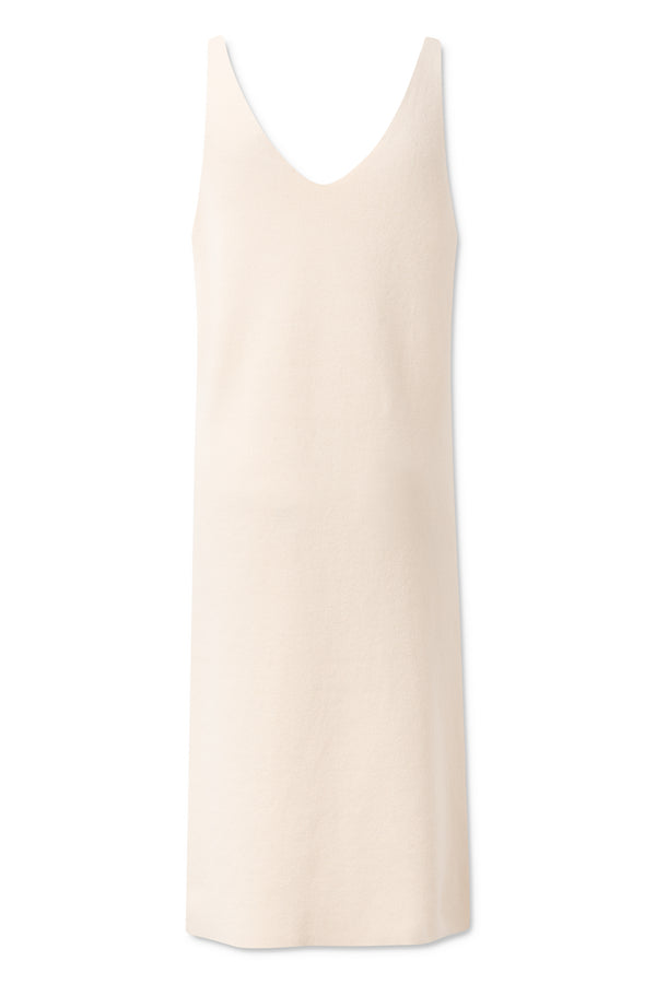 Lara Dress - White Asparagus
