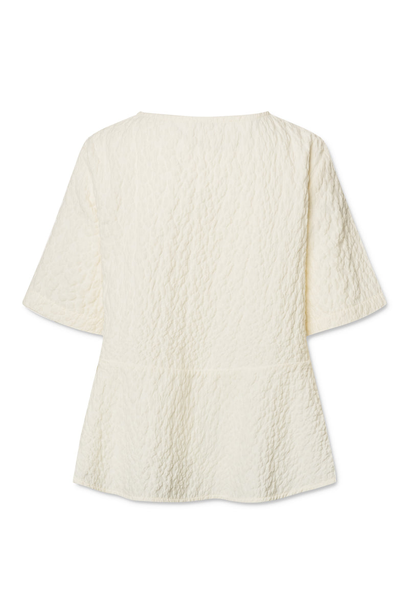 Liv Blouse - Whisper White