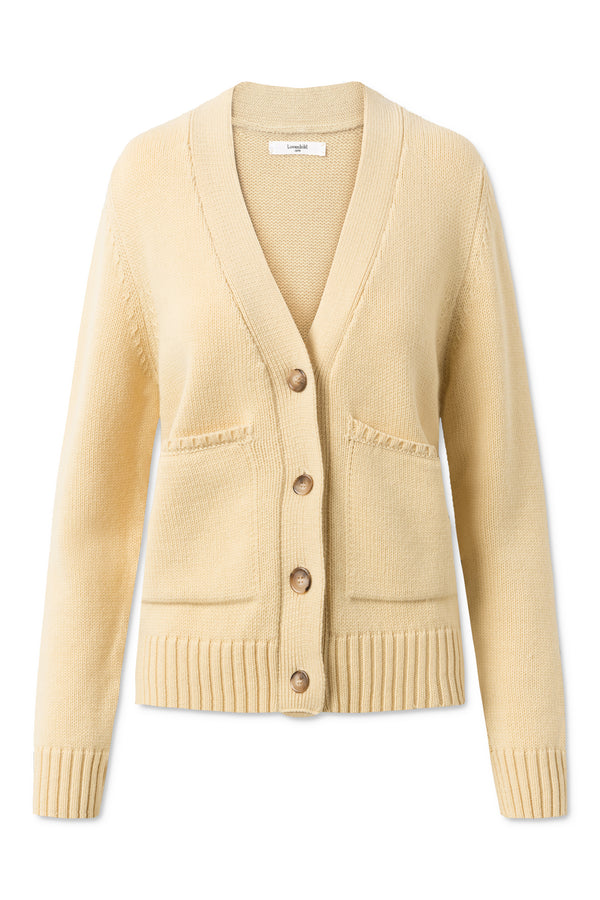 Loui Cardigan - Pale Banana
