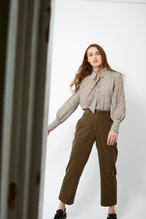 Coppola Pants - Beech Olive Green
