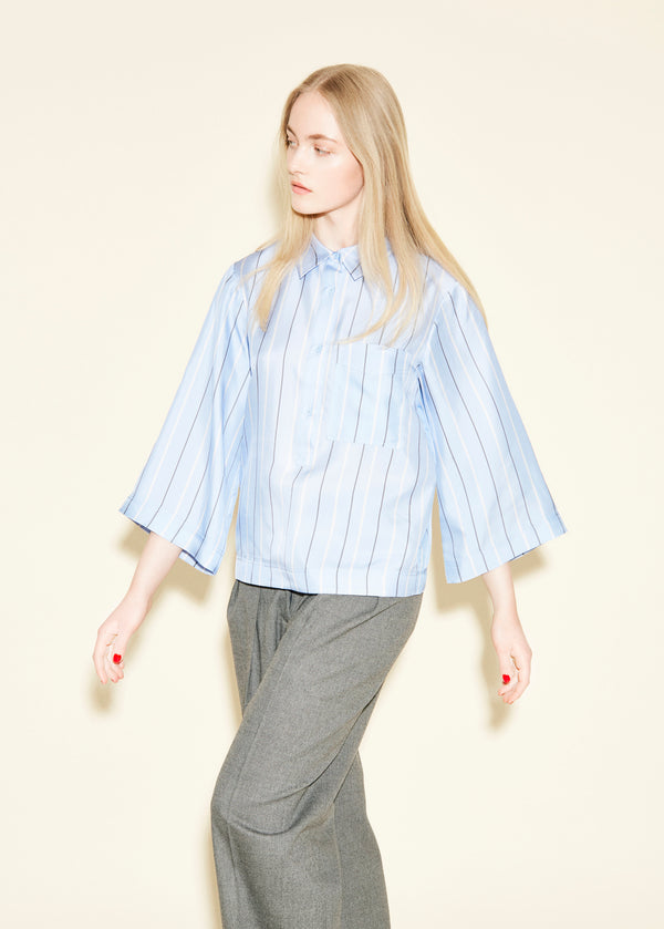 Elba Shirt - Boy Blue