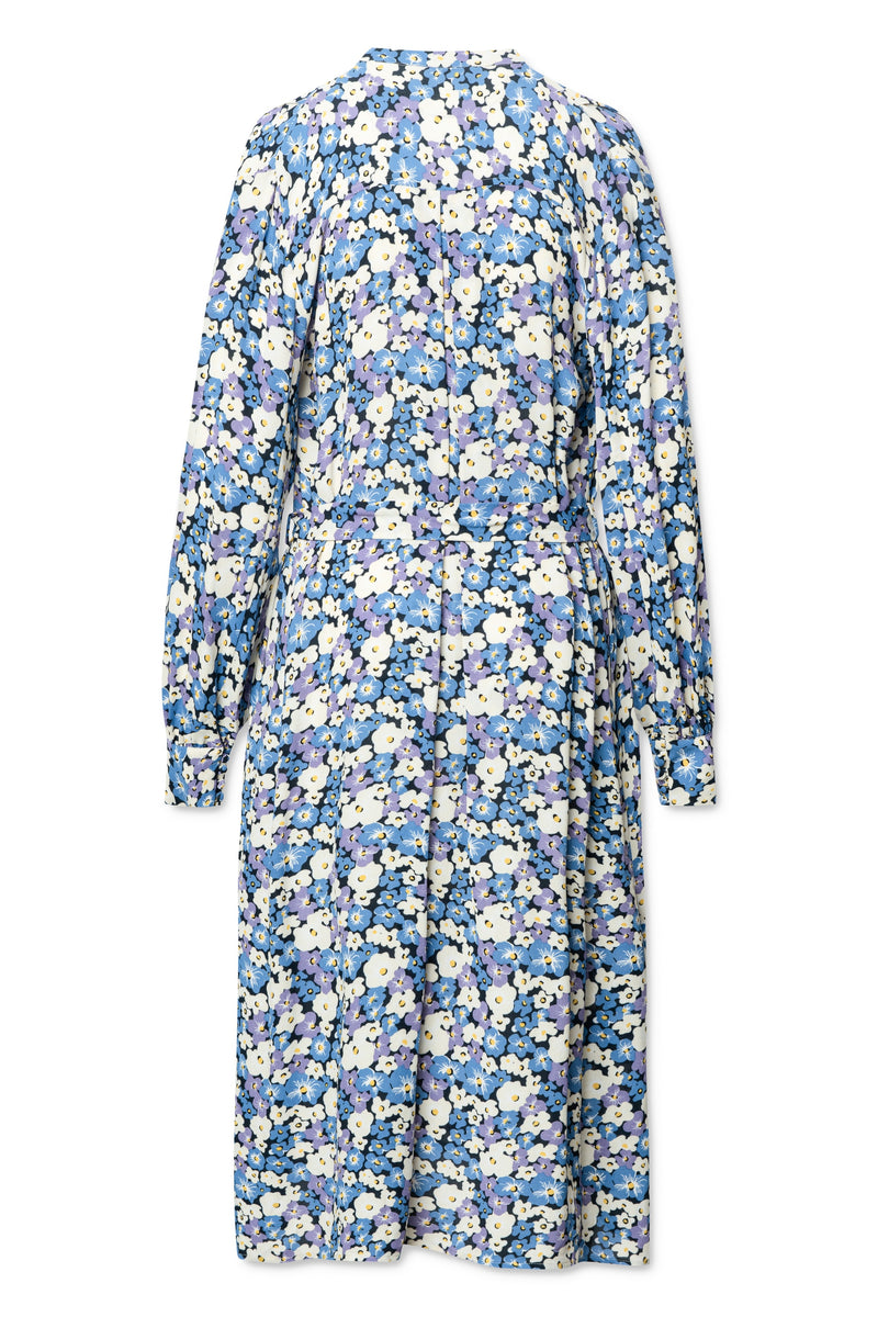 Marilla Dress - Chalk Violet