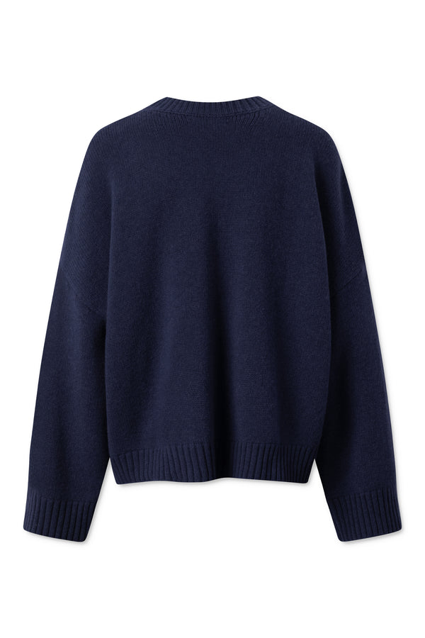 Mateo Round Neck - Navy
