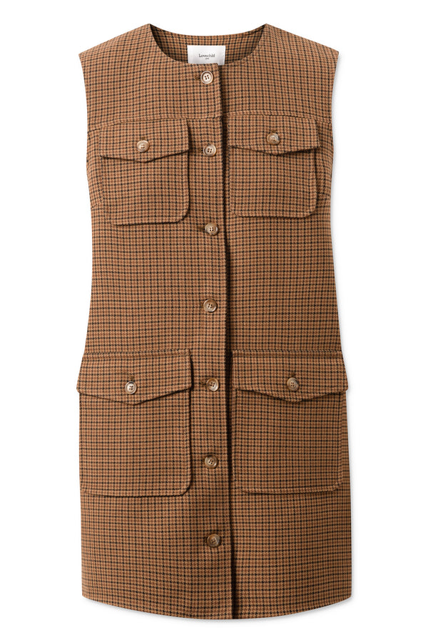 Petrina Dress - Brown