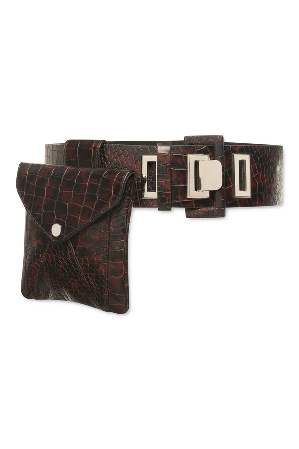 Scout Belt Bag - Brown