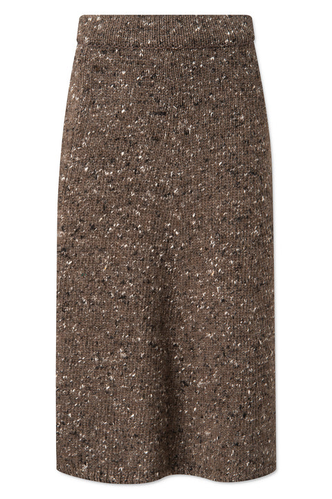 Shayla Skirt - Stone Grey