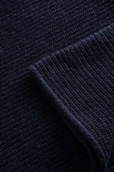Wilma Scarf - Navy
