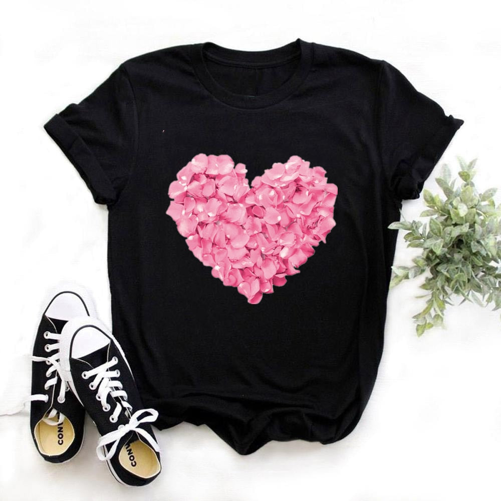 Wildflower Dandelion Print Women tshirt Cotton Casual Funny t shirt Gift For Lady Yong Girl Top Tee