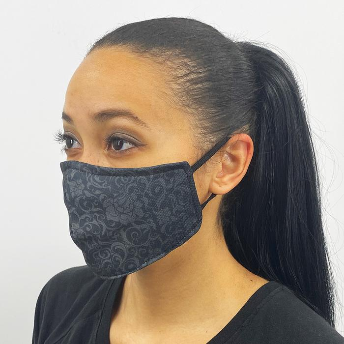 Black Lace Face Cover