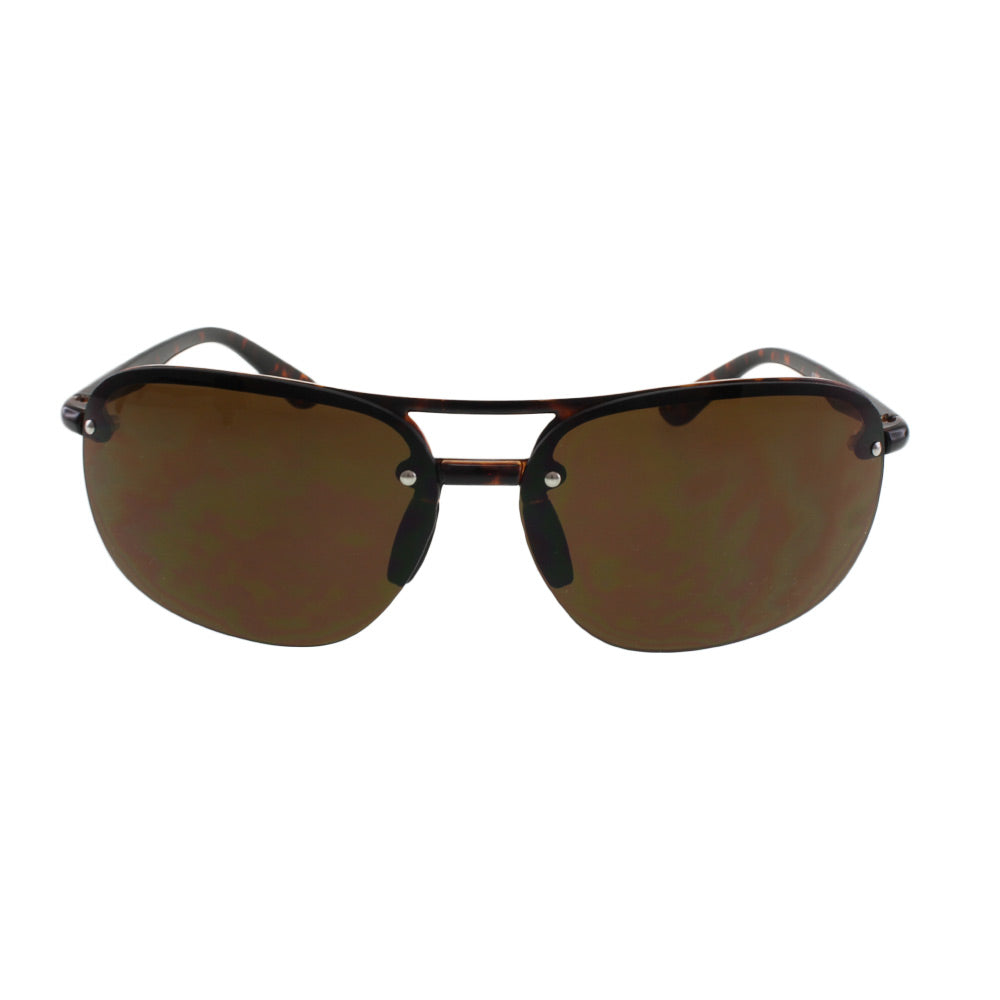 MQ James Sunglasses in Tortoise / Brown