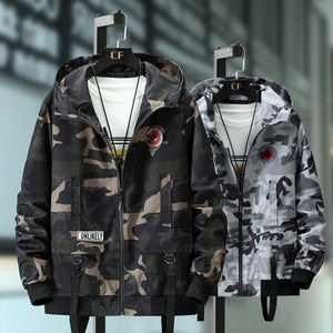 Plus Size 10XL 9XL 8XL 7XL  Bomber Military Jacket Men Camouflage Casual Jacket Men  Autumn Fashion Male Windbreaker Hooded Coat