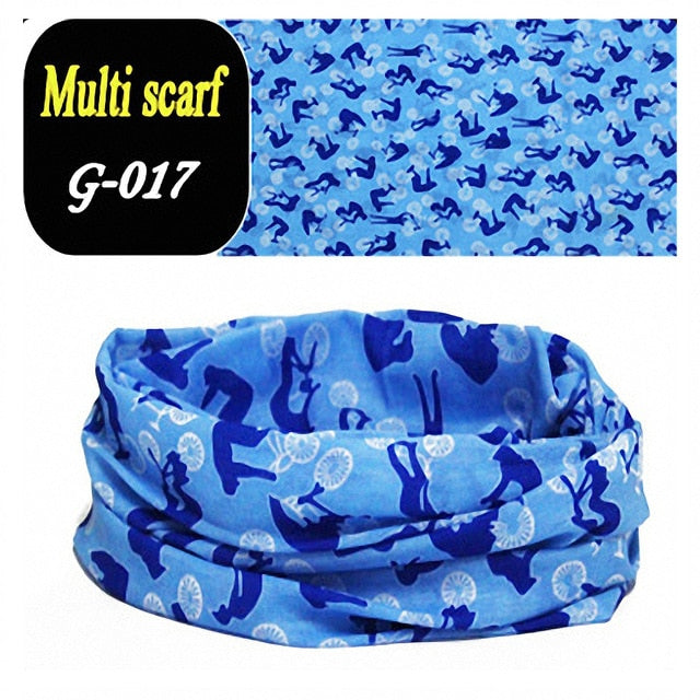 Fashion Men Women Head Face Neck Sunshade Collar Gaiter Tube Bandana Scarf  Sports Headwear Scarf Dustproof Outdoor Fishing