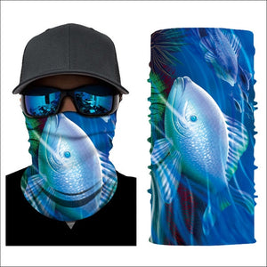 3D Sea Animal Scarf Riding Sports Protection Bandana Fish Print Neck Gaiters 2020 Outdoor Hiking Scarves Summer Pirate Bandanas
