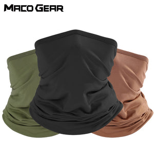 Outdoor Sport Bandana Military Mask Tube Fishing Cycling Tactical Hiking Cover Neck Gaiter Biker Headband Scarf Face Shield Men