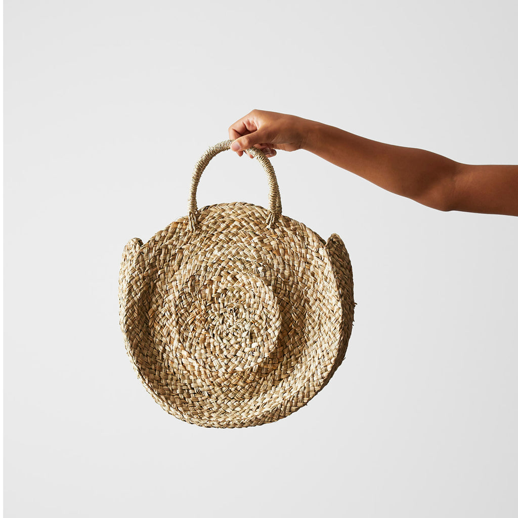 Seagrass Beach Bag - Round
