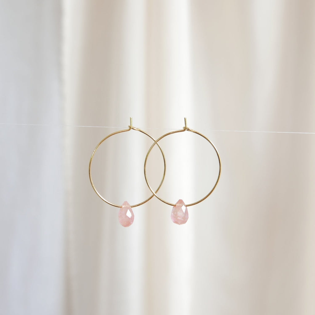 Goodheart hoops - Rose Drops