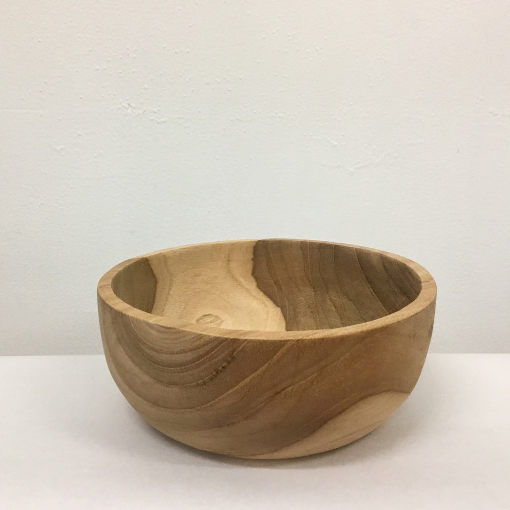 Teal bowl - medium