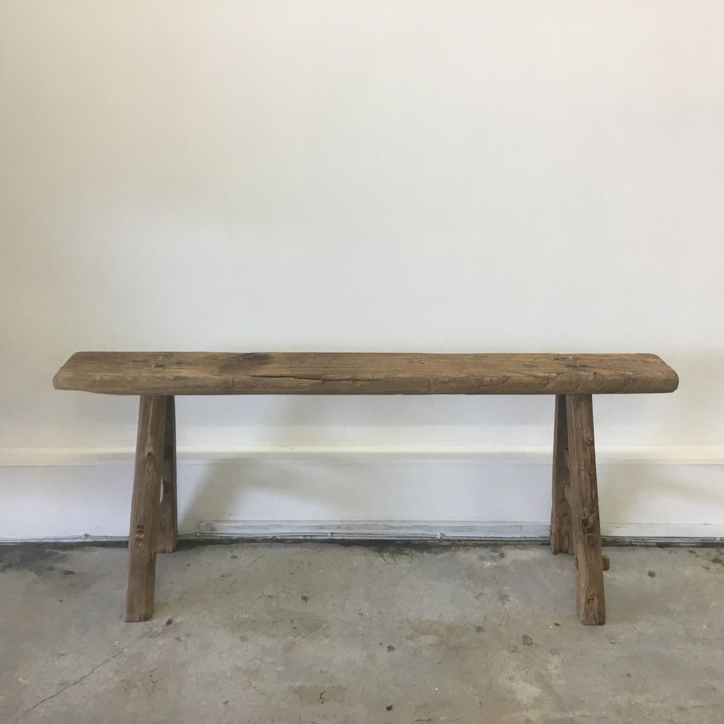 Original Wooden Peasant Bench 4