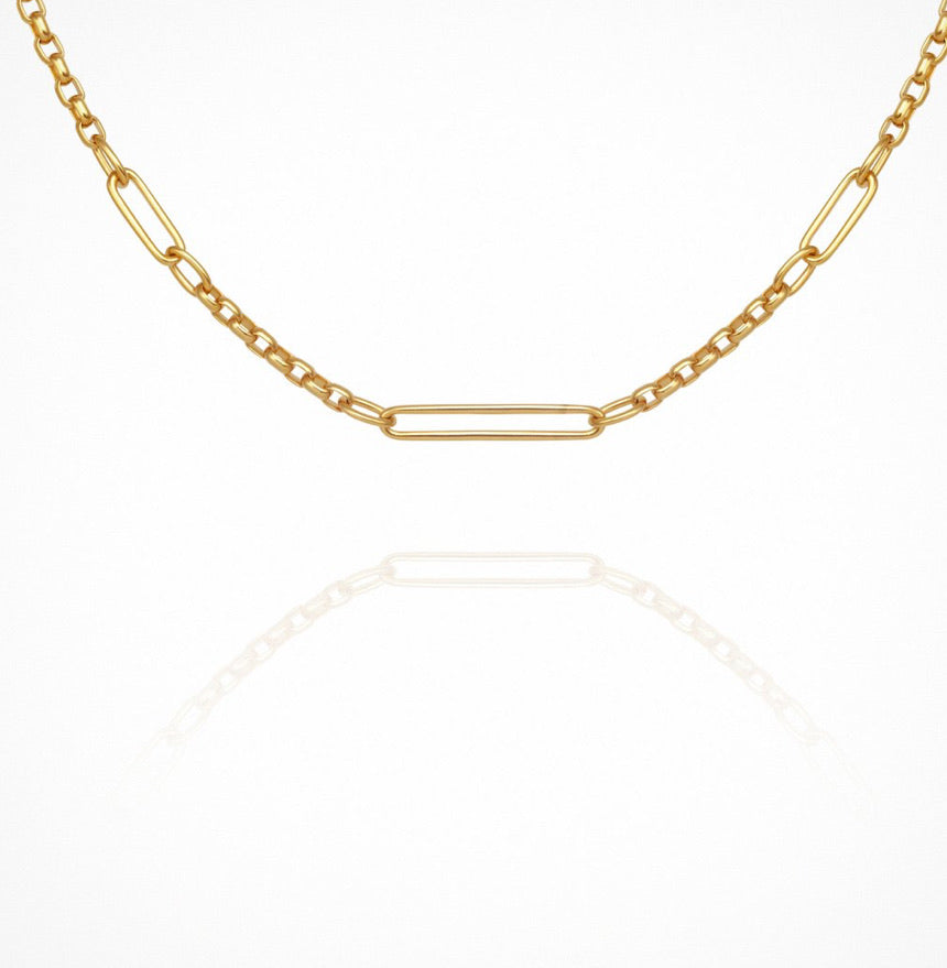Temple of the Sun - Niki Necklace Gold