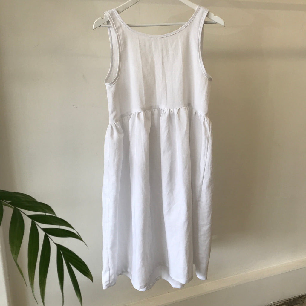 Harmony Dress - White
