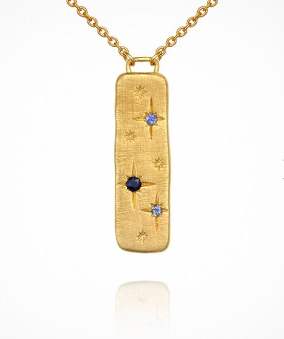 Temple of the Sun - Elektra Necklace Gold
