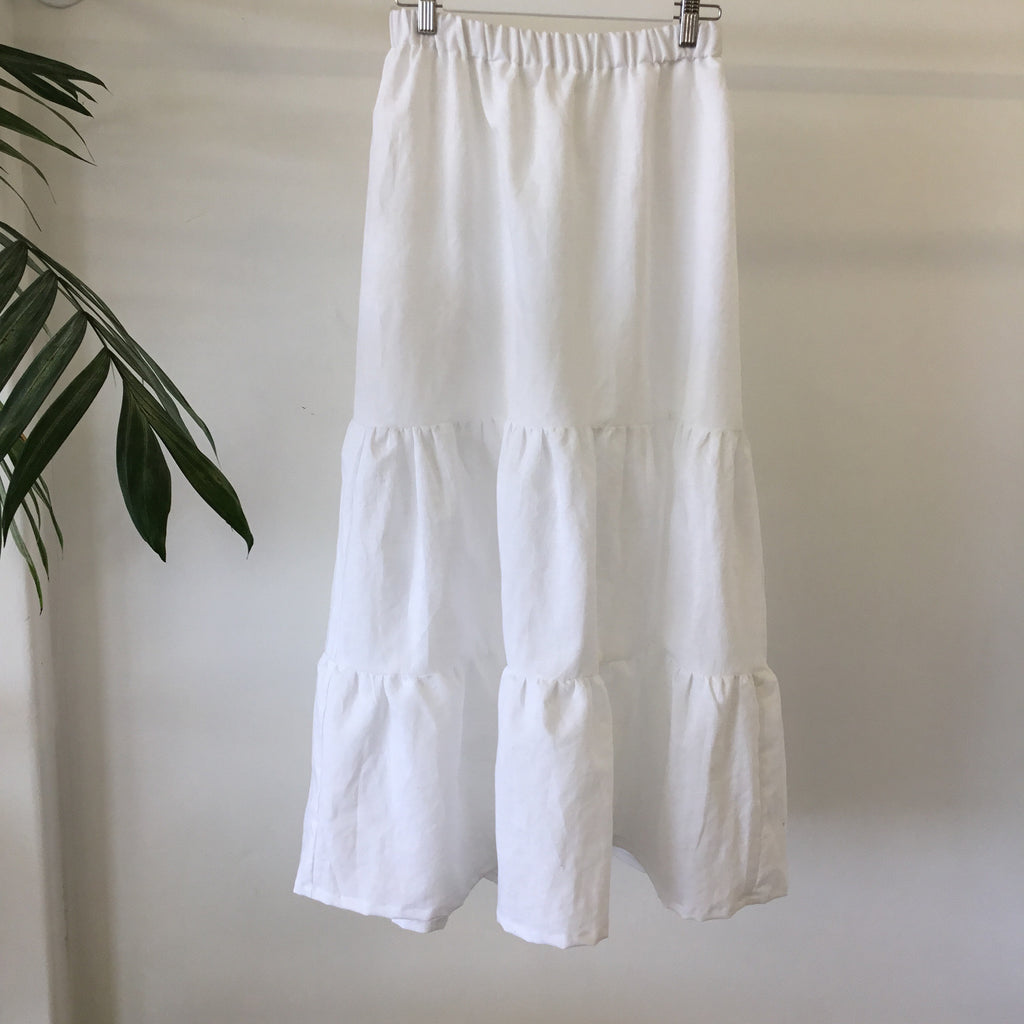 Phoebe Skirt - White