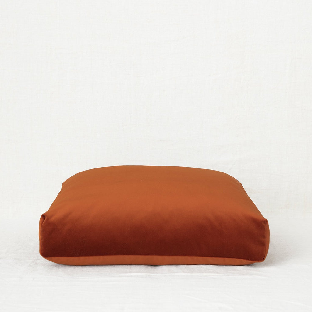 Velvet Meditation Cushion - Earth