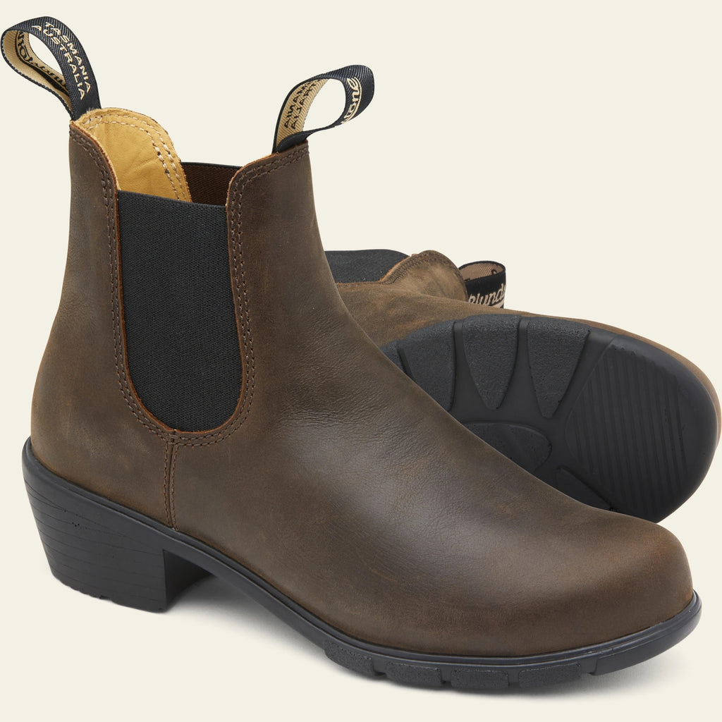 Blundstone 1673 - Heeled Boots - Antique Brown
