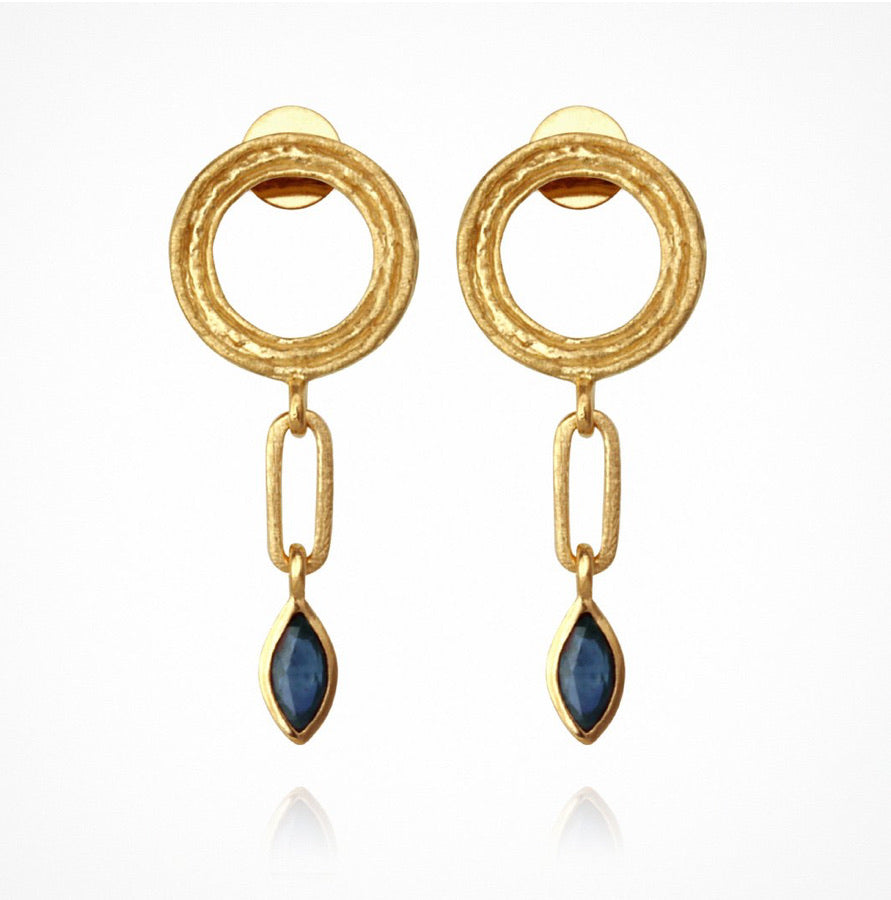 Temple of the Sun - Roxi Earrings Gold