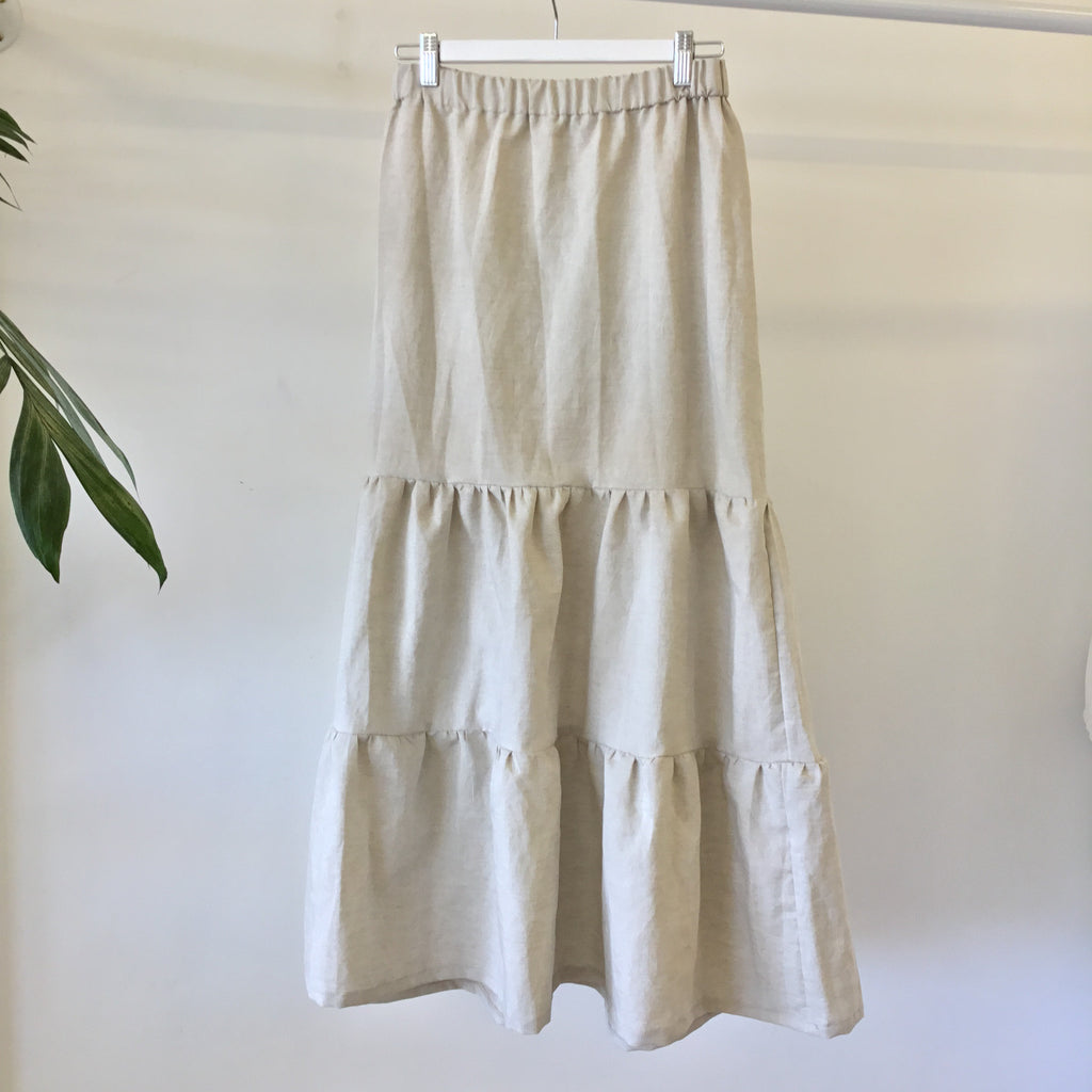 Phoebe Skirt - Natural